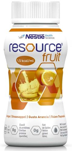 Resource Fruit Orange, 6 x 4 x 200 ml