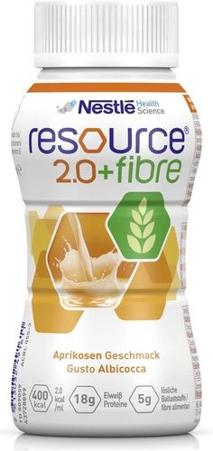 Resource 2.0 Fibre Aprikose, 6 x 4 x 200 ml