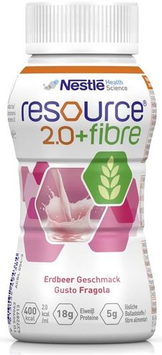 Resource 2.0 Fibre Erdbeere, 6 x 4 x 200 ml