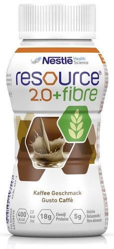Resource 2.0 Fibre Kaffee, 6 x 4 x 200 ml