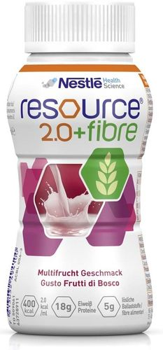 Resource 2.0 Fibre Multifrucht, 6 x 4 x 200 ml