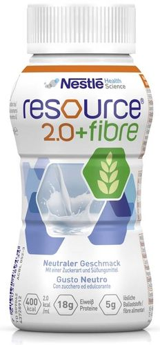 Resource 2.0 Fibre Neutral, 6 x 4 x 200 ml