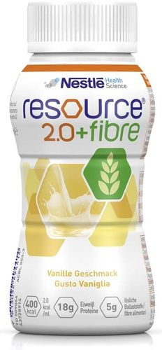 Resource 2.0 Fibre Vanille, 6 x 4 x 200 ml